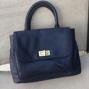 Merona Navy Handbag